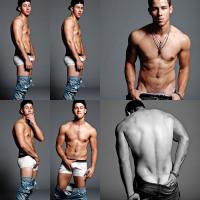 Nick Jonas posó en ropa interior para Flaunt Magazine