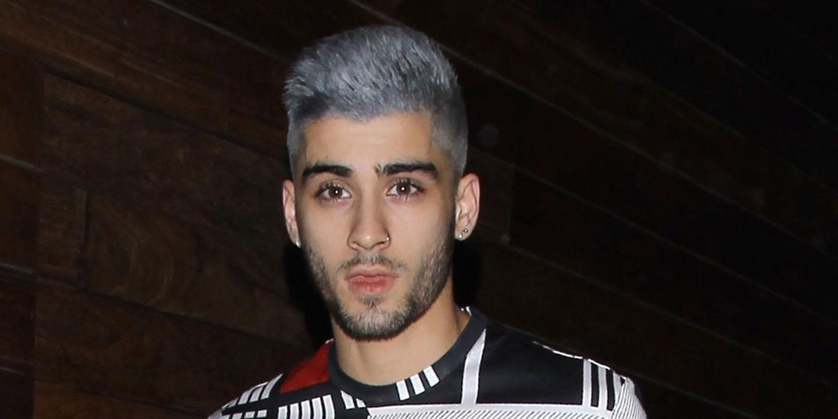 Nunca adivinarás de qué color es el nuevo cabello de Zayn Malik